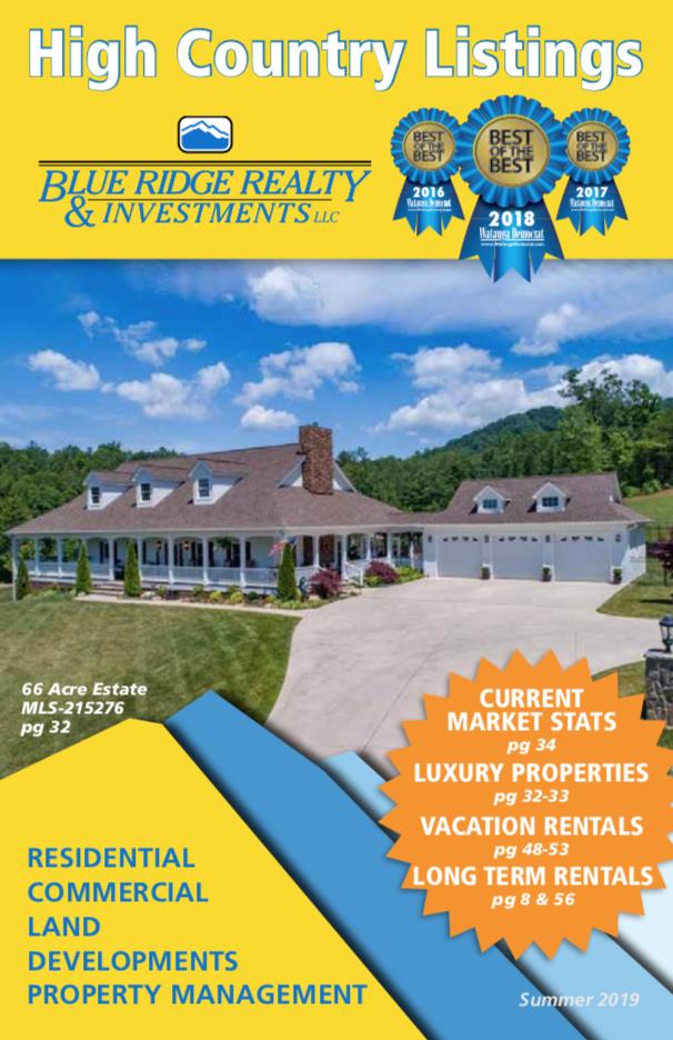 Booklet | Blue Ridge Realty